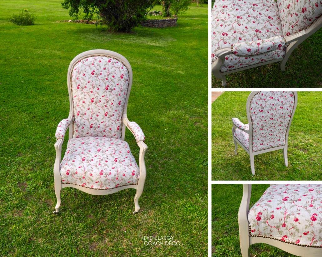 Renover Une Chaise Medaillon diy : relooker un fauteuil voltaire, vous pouvez le faire
